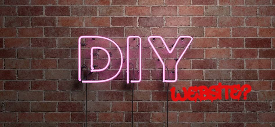 DIY Neon Lights with Website Graffiti